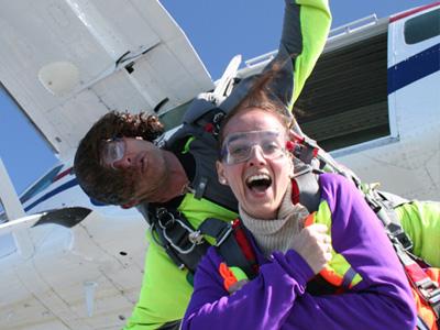 Saut parachute tandem Aéroport Le Havre Octeville
