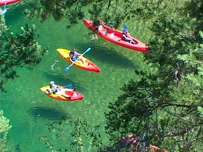 Canoe pyrénées orientales