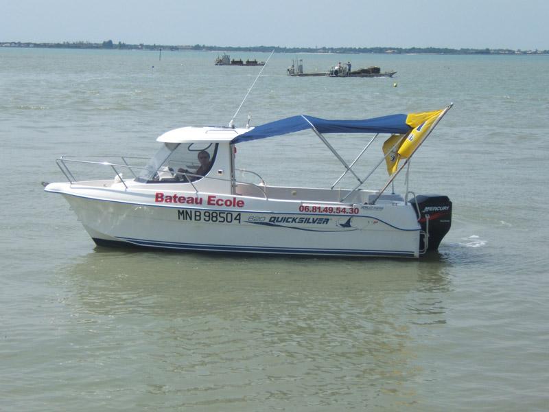 Permis bateau bourcefranc poitou charente 17 saintes - Permis bateau royan ...