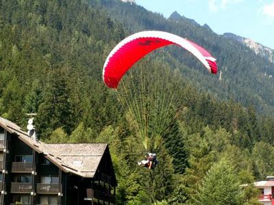 Vol en parapente à Chamonix Mont Blanc