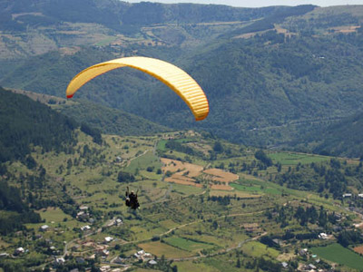 Baptême en parapente au coeur des Pyrénées