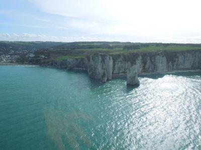 Baptême Hélicoptère - À la découverte du littoral Haut Normand