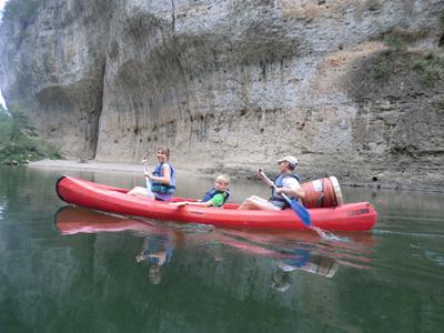Rafting ou Canöe - Descente des gorges du Tarn
