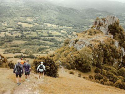 Stage Trail en Pays Cathare - Saint Paul de Jarrat
