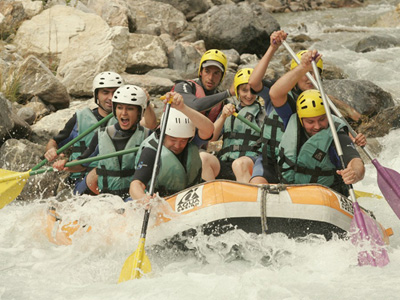 Rafting - Chantemerle