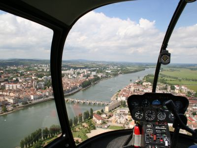 Baptême hélicoptère - Mâcon