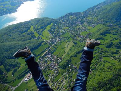 Baptême en parapente – Entre Léman et Mont Blanc
