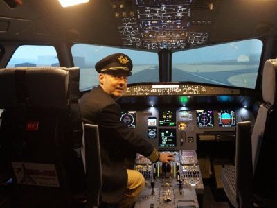 Simulateur de vol Airbus A330 - Paris