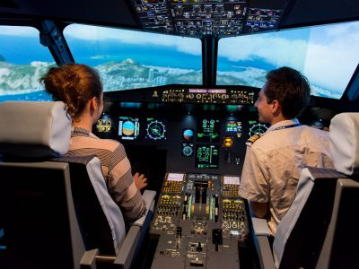 Simulateur avion Airbus A320 – Centre Paris Orly
