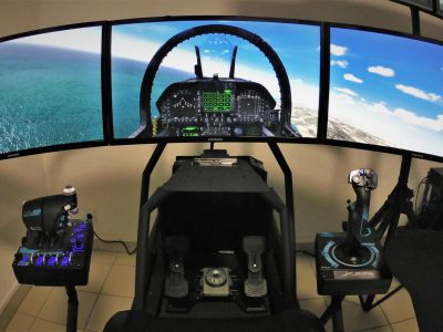 Simulateur de pilotage avion de chasse - Châtenois