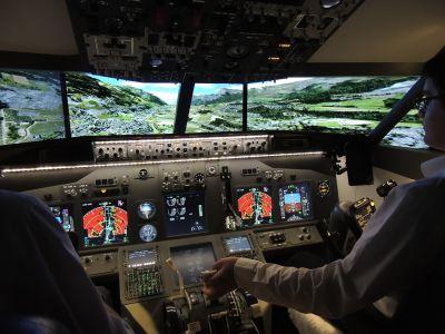 Simulateur de pilotage avion de ligne Boeing 737 - Châtenois