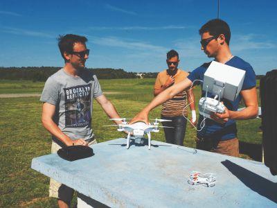 Initiation pilotage drone à Prades-le-Lez - Montpellier