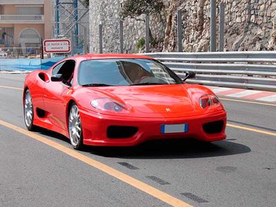 Baptême passager en Ferrari 360 Modena