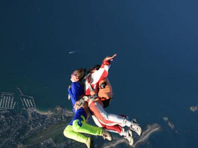 saut en parachute guerande