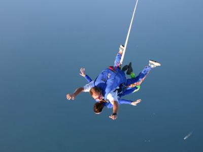 parachutisme quiberon