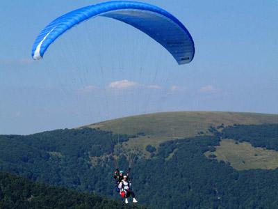 Baptême de Parapente en plein coeur du massif des Vosges