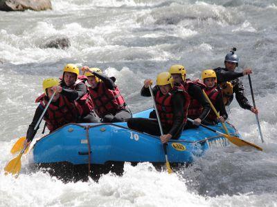 Rafting - Descente Rafting sur l'Isère