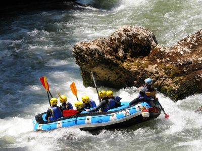 Rafting - Le Parc Naturel du Morvan